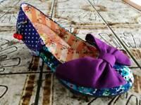 Irregular Choice Iconic shoes UK 5 EU38