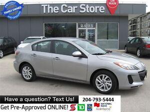 2013 Mazda MAZDA3 GX BLUETOOTH 1-owner NO ACCIDENTS