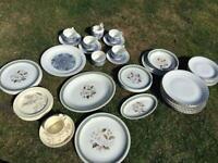 Selection of Vintage Plates / Tea Set