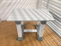 Patterson Medical Slatted bath/shower seat 12""