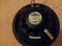 Celestion BL10 150, speaker replacement drivers with light neo magnets.