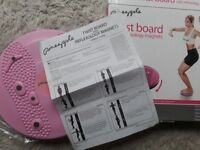 Twist board for abs