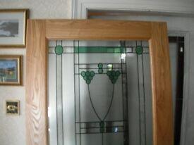 Exterior Door Abington Oak Door Double Glazed ex-display Top Quality.