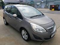 2011 Vauxhall meriva 1.7 Diesel, panoramic sunroof,S.HISTORY,2 keys