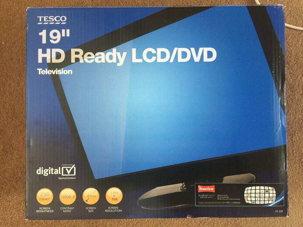 19 Hd Ready Tv Dvd Combi Tesco With Freeview