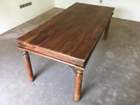 Indian Sheesham Hardwood dining table (Seats 8)