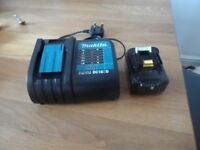 makita charger and battery