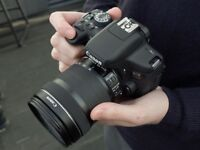 CANON EOS 750D with extra Canon EF-S 15-85mm