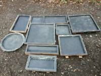 Slab/paving concrete molds