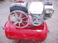 Petrol Compressor Honda GX 160 Engine Good Working Order