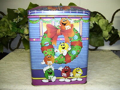 M&M'S TIN BOX BED AND BREAKFAST HOUSE CHRISTMAS 1995 ()