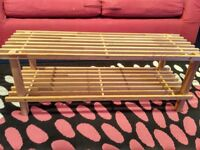 Wooden dismantable Shoe rack