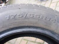 175 65 14 budget tyre used condition with plenty tread