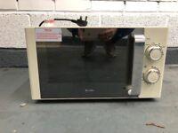 Cream breville microwave
