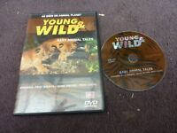 DVD Young and Wild, Baby Animal Tales, as seen on Animal Planet