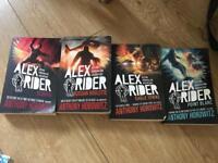 4 Alex rider books