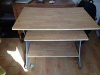 Wooden Desk/Workstation in good condition
