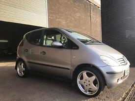 MERCEDES A CLASS A190 WITH 10 MONTHS MOT AMG WHEELS FULL LEATHER UPHOLSTERY!!