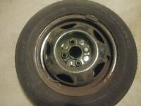 "Set of 4 13"" 4x100 steel wheels"