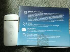 O2 mobile pocket wifi