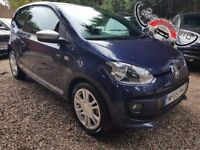 Volkswagen UP! 1.0 Club Up Hatchback 3dr£5,495 p/x welcome FREE 1 YEAR WARRANTY| LIKE NEW