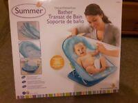 Summer Infant Baby Bather Bath Support Blue