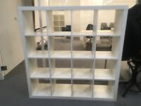 2 * Ikea Expedit / Kallax 4*4 white shelf available in Shoreditch (COLLECTION ONLY)