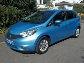 Nissan Note 1.5 dCi Acenta Premium 5dr [Safety Pack] (sonic blue) 2013