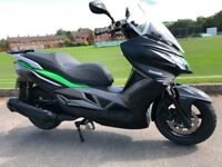 2014 KAWASAKI J300 BIG TOURING SCOOTER VERY CLEAN -NEW TYRES JUST FITTED -FINANCE AVAILABLE £2799