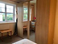 4-door Wardrobe Oak effect