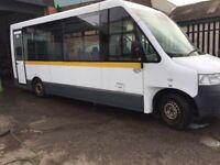 Volkswagen Transporter Tucana Low floor accessible minibus 58 plate