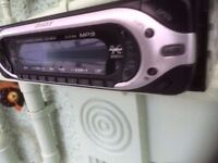 Sony CDX-MP40 CD Player/MP3 In Dash Receiver