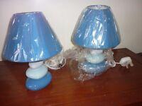 Pebbles Bedside Lamps PAIR