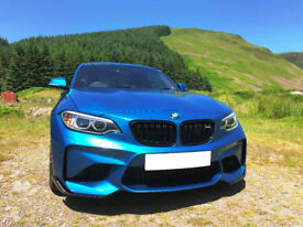 BMW M2 Coupe in Long Beach Blue