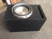 Cundor competition sub subwoofer bass box