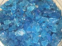 Glassworks Liverpool recycled glass chippings for Memorials, Home Garden, 25kg sacks For Sale Retail