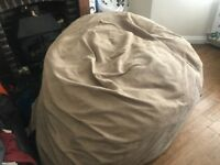 Large budda bag bean bag approx 1.8 mtrs round