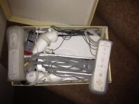 Nintendo Wii Fit with 3 Games