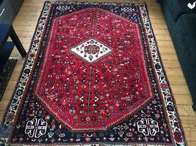 Persian Qashqai carpet. 238cm by 166cm. From IKEA
