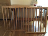 Mamas and Papas wooden stair gates