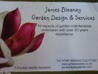 Full time gardener required