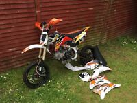 Slam 140cc pit bike