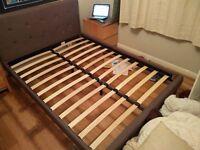 Modern bed + mattress must go ASAP!