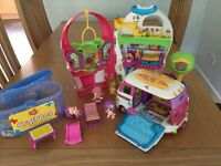 PinyPon Playhouse and Camper Van with Accessories