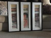 3 Framed Canvas ( please check my other ads- thank you)