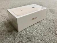 IPHONE 8 GOLD 64gb FACTORY UNLOCKED BRAND NEW IN SEALED BOX 1 YEAR WARRANTY, MAY SWAP