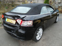 2012 Audi A3 Cabriolet 1.6 TDI Sport DAMAGED REPAIRABLE SALVAGE
