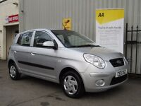 KIA Picanto 1.0 1 5dr, Low Mileage + 7 Stamps in Book