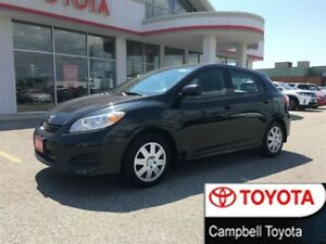 2014 Toyota Matrix LOW KM'S--AUTO--CRUISE--CLOTH