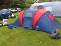 regatta festival 4man to 6 man tent great condition.